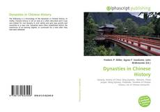 Bookcover of Dynasties in Chinese History