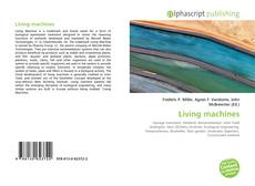 Bookcover of Living machines
