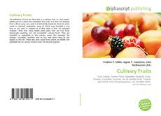 Couverture de Culinary Fruits