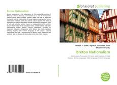 Bookcover of Breton Nationalism