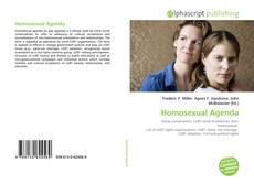 Portada del libro de Homosexual Agenda