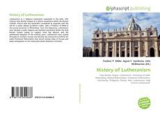 Capa do livro de History of Lutheranism