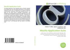 Couverture de Mozilla Application Suite