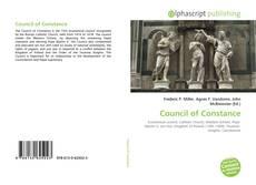 Council of Constance的封面