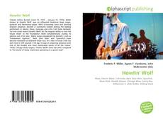 Bookcover of Howlin' Wolf