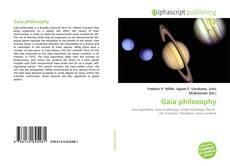 Copertina di Gaia philosophy