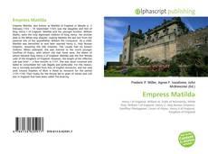 Empress Matilda kitap kapağı