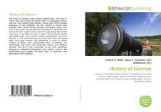 Buchcover von History of Cannon