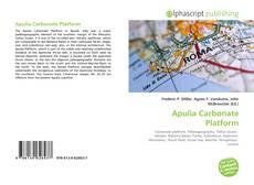 Bookcover of Apulia Carbonate Platform