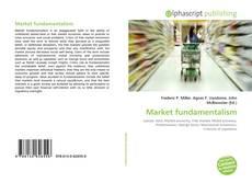 Обложка Market fundamentalism
