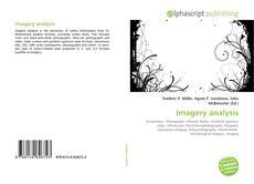 Bookcover of Imagery analysis