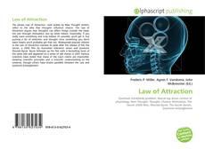 Copertina di Law of Attraction