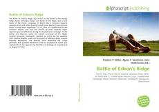 Bookcover of Battle of Edson's Ridge