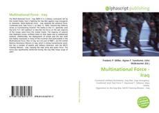 Multinational Force - Iraq的封面