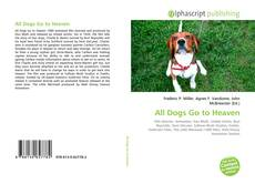 Bookcover of All Dogs Go to Heaven