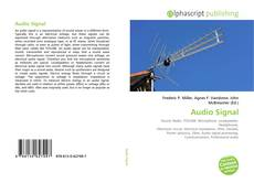 Bookcover of Audio Signal