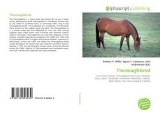 Bookcover of Thoroughbred