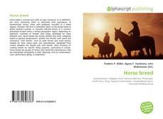 Portada del libro de Horse breed