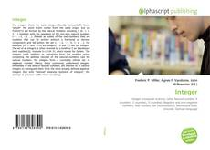 Bookcover of Integer