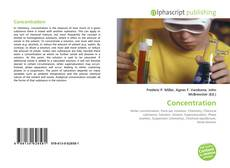 Bookcover of Concentration