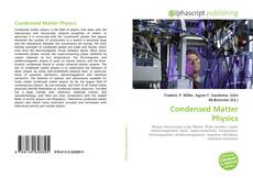 Bookcover of Condensed Matter Physics