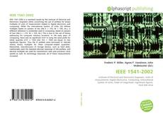 Bookcover of IEEE 1541-2002