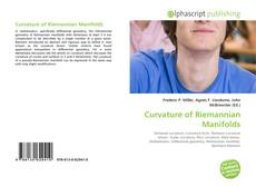 Bookcover of Curvature of Riemannian Manifolds