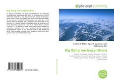 Capa do livro de Big Bang nucleosynthesis