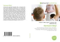 Bookcover of Hermann Weyl
