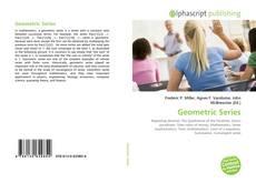 Couverture de Geometric Series