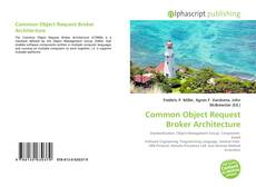 Capa do livro de Common Object Request Broker Architecture