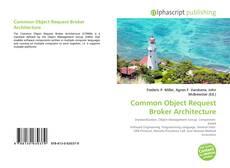 Bookcover of Common Object Request Broker Architecture