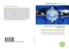 Copertina di Metrication Opposition