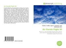 Capa do livro de Air Florida Flight 90