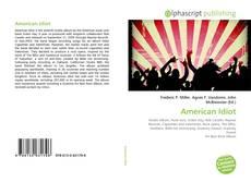 Buchcover von American Idiot