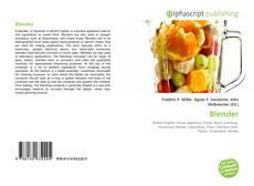 Buchcover von Blender