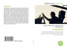 Bookcover of Kargil War