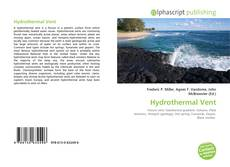 Bookcover of Hydrothermal Vent