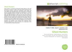 Bookcover of Ghost Hunters