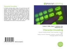 Character Encoding kitap kapağı
