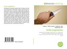 Buchcover von Knife Legislation