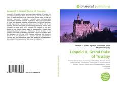 Bookcover of Leopold II, Grand Duke of Tuscany