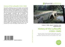 Capa do livro de History of the Luftwaffe (1933–1945)