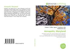 Bookcover of Annapolis, Maryland