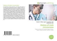 Bookcover of History of male circumcision