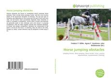 Bookcover of Horse jumping obstacles