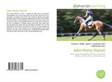 Bookcover of John Henry (horse)
