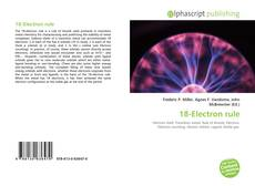 Bookcover of 18-Electron rule