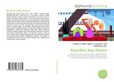 Bookcover of Boundary Bay Airport