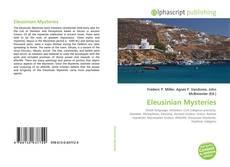 Capa do livro de Eleusinian Mysteries